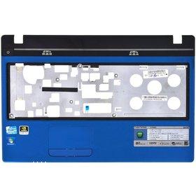 Верхняя часть корпуса ноутбука Acer Aspire 5750 / P5WE0_LOG_UP_IMR #3 синий