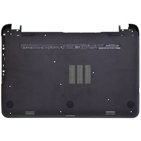 Нижняя часть корпуса ноутбука черный HP 15-g000sq