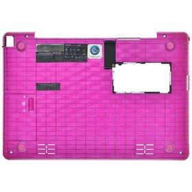 Нижняя часть корпуса ноутбука розовый Asus EEE PC 1008